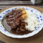 アンティークス - 料理写真:カツカレー大盛 680円