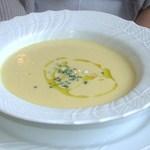 19577043 - ランチA・Aプラン スイートコーン冷製スープ