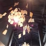 ピノキオ - 普通の喫茶店ぽい雰囲気ですが,照明がかっこよかったです。