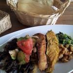 19578890 - スリランカカレー(魚と野菜)