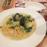 ガスト - 彩り野菜たっぷりフィッシャーマンズスパゲティ\733