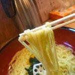 19582258 - 麺は極太麺で~~すっ!!
