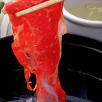 なんどき牧場 - 料理写真:牛&豚肉&湘南野菜のしゃぶしゃぶ食べ放題