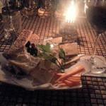 ザバーアルカサル - チーズの盛り合わせ