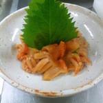 酒処COUNTER - 赤貝のお刺身