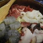 平和 - 料理写真:【平和焼@997円】 友人が注文。^^