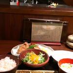19586505 - チキン竜田定食。ご飯おいしーい!!