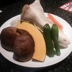 スエヒロ館 - 焼き野菜盛り合わせ