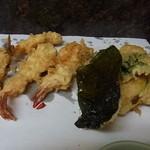 天ぷら ちはら - えびと野菜