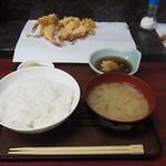 天ぷら ちはら - 天ぷら定食