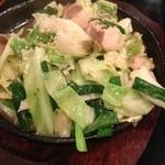 19589401 - ホルモン野菜炒め