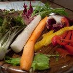 葡萄の丘 - 料理写真:やさしい食彩 葡萄の丘 野菜  By 「あなたのかわりに・・・」