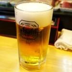 佐兵衛すし - 生ビール