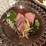 19594846 - 鹿児島産 かんぱちの刺身