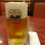 中国料理 安泰楼 - 生ビール