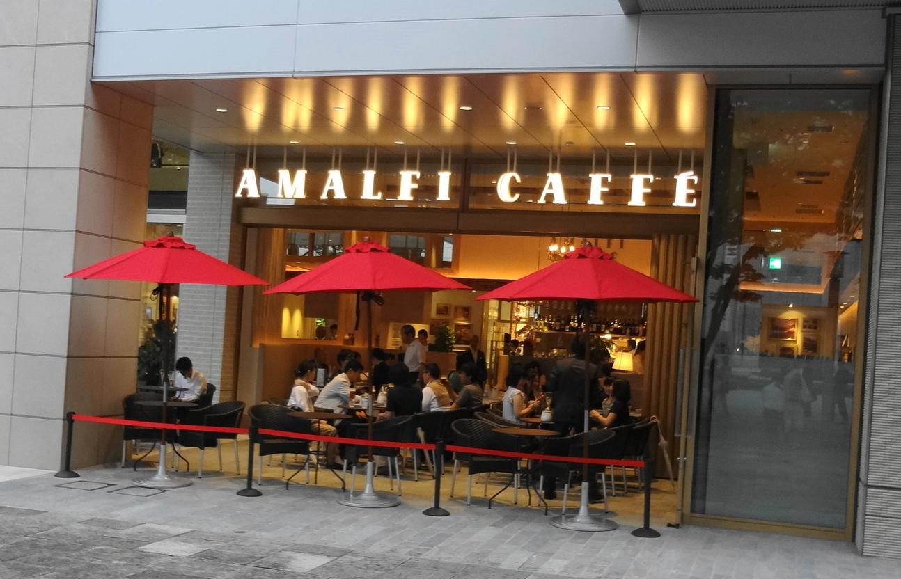アマルフィイ カフェ