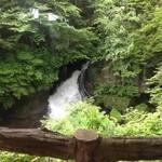 19596809 - 新緑の竜頭の滝景色