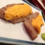 割烹 たきぐち - ウニ和牛