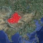 19598958 - 新疆ウイグル自治区。 面積は、日本の4.5倍。 人口1900万人。 イスラム圏だけど、仏教遺跡も多い。