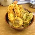 天ぷら 豊野 - 天丼700円