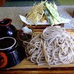 吉野屋 - 大盛天ざる蕎麦