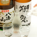 【 香家 立川店の日本酒 】