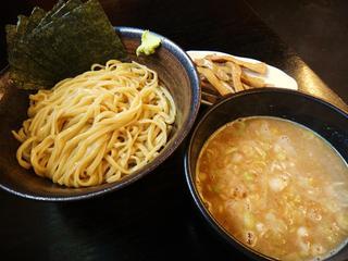 すーぷ道 連 - 濃厚つけ麺(並)+メンマ100円