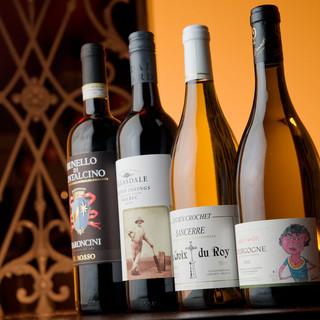 【5周年記念】ただ今、グラスワイン12種が30%OFF