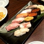 活菜旬魚 さんかい 澄川店 - 特上生寿司
