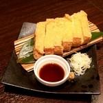 活菜旬魚 さんかい 澄川店 - 厚揚げ豆腐