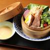 Shummiiyasaka - 料理写真:『豚うで肉のやわらか煮と野菜のせいろ』