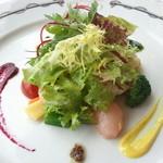 19603527 - 様々な食感に仕上げた旬野菜