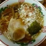 こうじ - ラーメン(中細麺)600円