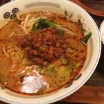 味仙 - ランチ。担々麺。