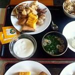 ホテルエリアワン宮崎 - ●おかずがいろいろありすぎて、てんこ盛り 汗(2013.02)●