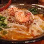 アジアン麺 - ホッケンミー700円