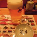 築地すし鮮 - 生ビール