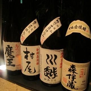 日本酒 / 焼酎 / 梅酒 の品揃えには自信あります!!