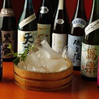季節によって替わる!日本酒好きの方も楽しめます!