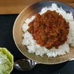 お食事・惣菜 うれしや - キーマカレーセット