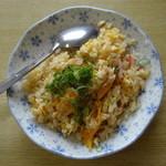 ポンポン亭 - みそセット950円の焼き飯