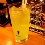 戸隠 - 青リンゴサワー