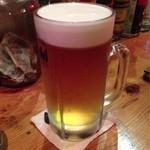 ダイニングバー ワイノット - ビール750ml、1000円安い!