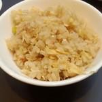 19612987 - 2013.6-3 蟹肉炒飯(取り分け)
