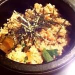 ガヤムシャ - 石釜高菜飯