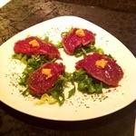 ガヤムシャ - だちょうの一口サラダ