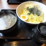 羅妃焚  - つけ麺・塩(780円)