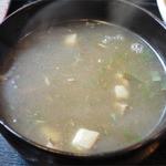 羅妃焚  - つけ麺・塩(780円)スープ