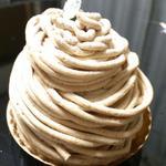 洋菓子の店 グルメ - 和栗のモンブラン