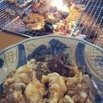 鮎の茶屋 - イノシシのホルモン!!